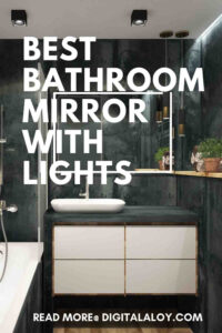 best bathroom mirror with lights-pin